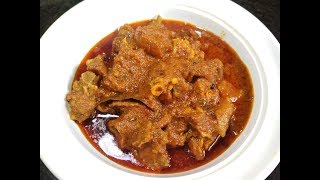 Easy Mutton Recipe In Pressure Cooker | Mutton Curry Restaurant Style | Mutton Recipes Bengali Style