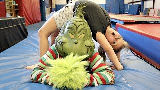 Family GYMNASTICS with the GRINCH!