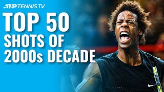 TOP 50 ATP SHOTS & RALLIES OF 2000s DECADE!