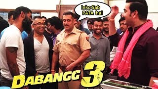 DABANG 3 | Salman Khan REVEALS UPDATES from On Location | Check all Secrets!