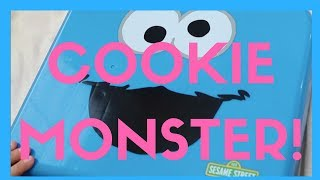 Sesame Street Cookie Monster on the go toy review!