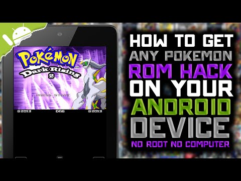 Android: How to Get Pokemon ROM Hacks! (NO COMPUTER) (NO JAILBREAK)