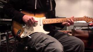 Dire Straits licks on 1954 Fender Stratocaster