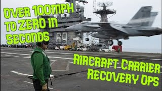 Flight Deck - Aircraft Recovery Operations