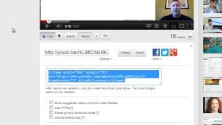 How To Disable Title Links In Embedded YouTube Videos