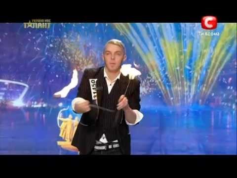 Украина мае талант 5 - Дмитрий Васильев (факир)