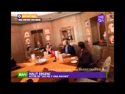 Halit Ergenç...15/1/2015 meeting for dinner with a Chilean lady in Çirğan Sarayi ( Palace)