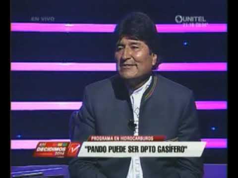 Entrevista con Evo Morales Ayma   Asi Decidimos programa de UNITEL