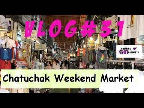 Vlog #31⎮ Hier gibt es alles was man (nicht) braucht - Chatuchak Weekend Market ⎮ Bangkok