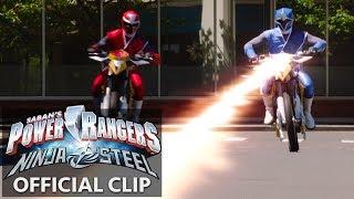 Power Rangers | Ninja Steel Official Clip - The Adventures of Redbot