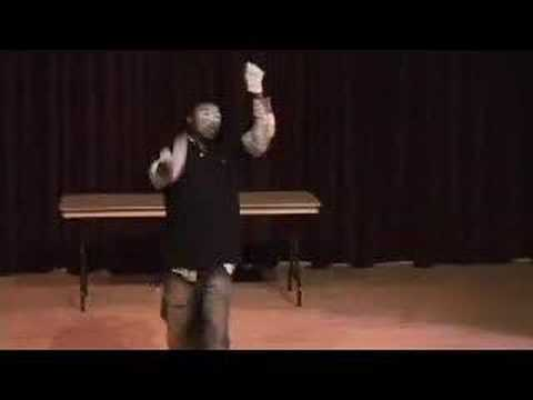 MARLON HINES MIME&Acirc;&reg; ::. Ministering at Dancers of David&#039;s &quot;Fall Forward&quot; at Eastern Michigan University. Forgive my fatigue &amp; sloppy facepaint -- I only had l...