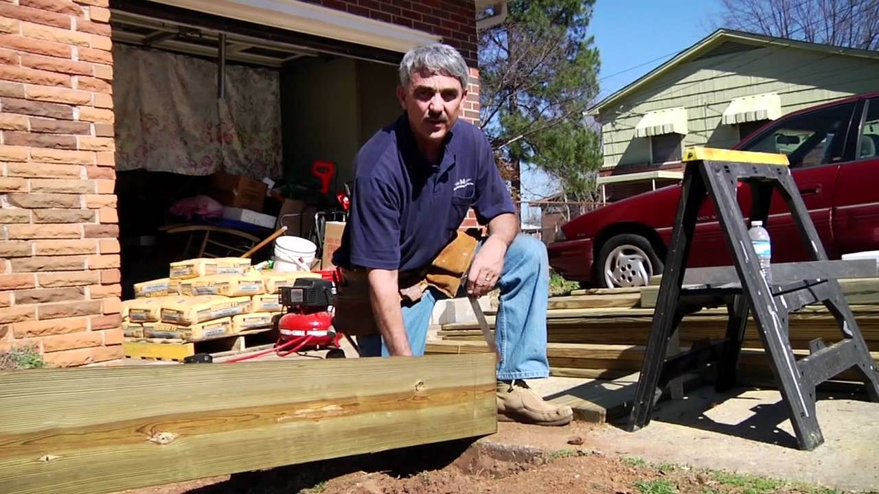 How to build a residential ramp youtube for Building a wheelchair accessible home