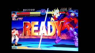 Marvel vs Capcom RYU-CAP.COMANDO VS ONSLAUGHT FİGHT ARCADE GAMEPLAY 2017