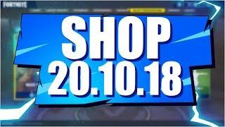Sklep Fortnite 20.10.18 Sezon 6 | Sanktum, oraz? - Daily Item shop October 20.10 - Update