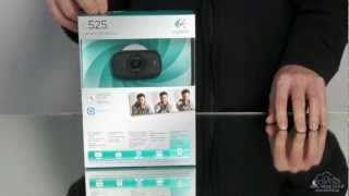 Logitech C525 Webcam Test / Review / Unboxing (German)