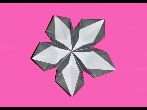 simple origami flower kusudama how to make origami