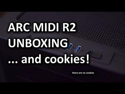 Fractal Design Arc Midi R2 Unboxing & Overview