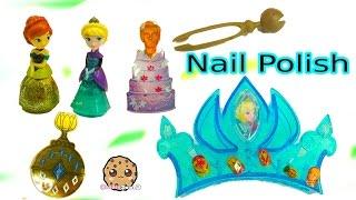 Disney Frozen Little Kingdom Coronation Nail Creation Queen Elsa  & Princess Anna Polish Set