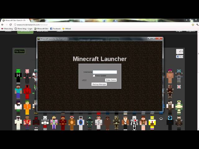 YourChoiseCZ Tutorial - Minecraft Skins