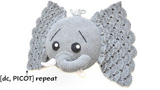 Crochet Picot Stitch Tutorial by IraRott