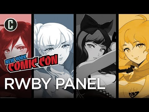 Rooster Teeth's RWBY Volume 5 Panel - NYCC 2017