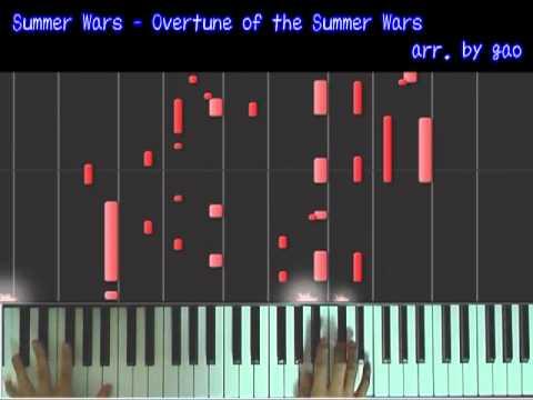 (ピアノソロ)- サマーウォーズより Overture Of The Summer Wars video