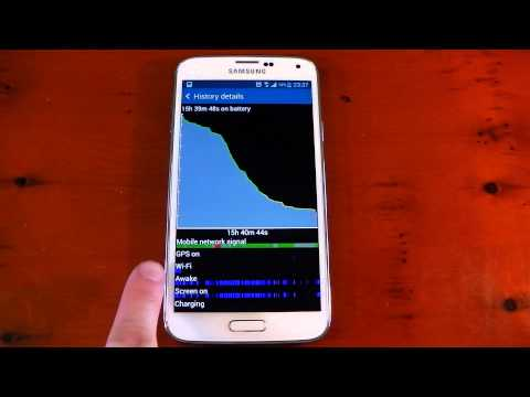 Samsung Galaxy S5 - Battery Life