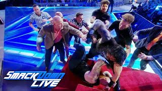 Unseen jib camera footage of Roman Reigns and Erick Rowan's brawl: Exclusive, Sept. 13, 2019