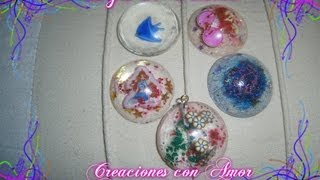 ✿✿❤ ❥ ♡ ♥ ღComo hacer Dijes de Resina/How to make resin charms✿✿❤ ❥ ♡ ♥ ღ