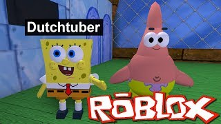DIT IS HOE JE SPONGEBOB WORDT IN ROBLOX!