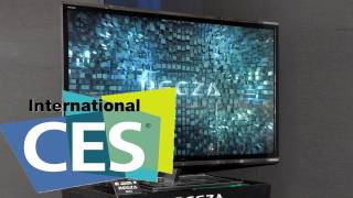 3D TV WITHOUT Glasses! Toshiba's 55 4K Display at CES 2012