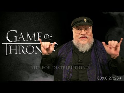 "George R.R. Martin ""Game Of Thrones"" Spoilers"