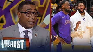 Cris Carter thinks Anthony Davis is the perfect fit for LeBron, Lakers | NBA | FIRST THINGS FIRST