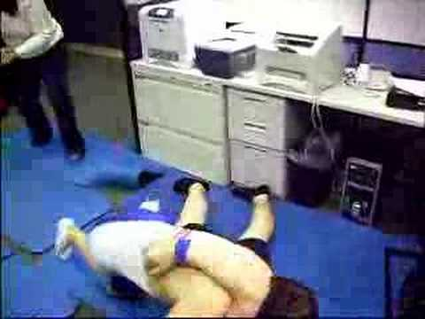 Junior vs. Jake (Steve and DC Wrestling Match)