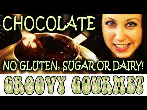 Gluten-free Sugar-free Double Dark Chocolate - Groovy Gourmet