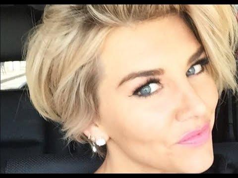Charissa Thompson Short Wavy Hairstyle thumbnail