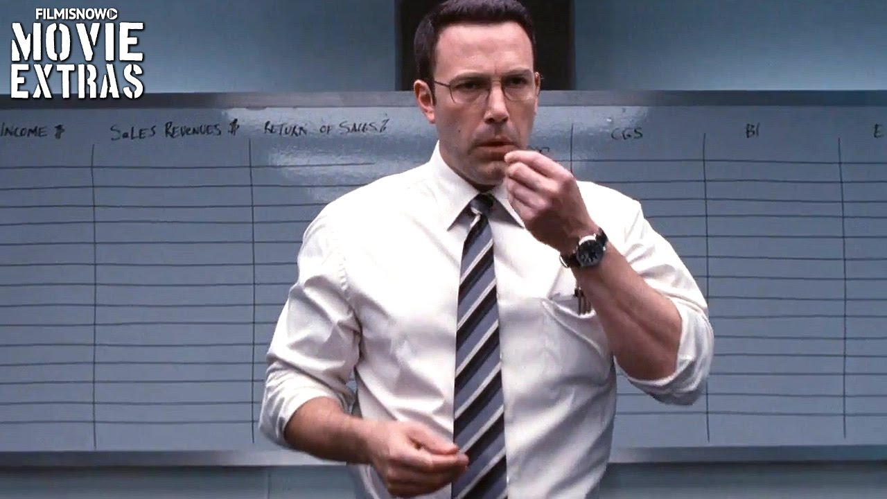 The Accountant 'Solve the Puzzle' featurette (2016)
