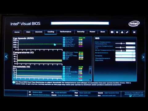Intel UEFI Visual Bios 2 Guide for the DZ87KLT-75K Motherboard