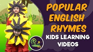 Popular English Rhymes | Kids Learning Videos - Pari TV | 4K Video