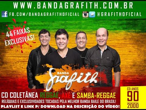 Banda Grafith - CD Coletânea Reggae   Axé   Samba-Reggae