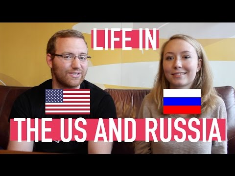 Differences in life in Russia and the US