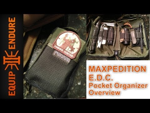 Mini Survival Kit, Maxpedition EDC Organizer by Equip 2 Endure