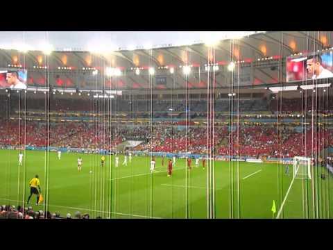 Relato del gol de Charles Aranguiz en Maracana . Chile - España / Second goal Chile 2 - Spain 0