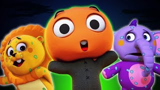 Zombie Apocalypse Song | Funny 3D Halloween Songs For Children | Baby Songs by All Babies Channel