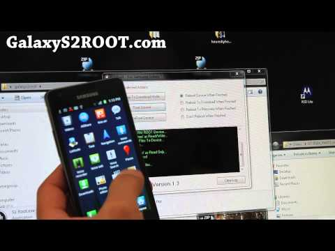 How to Root Galaxy S2!