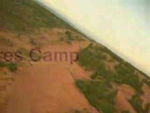 RC Plane flight over Coral Pinks Sand Dunes
