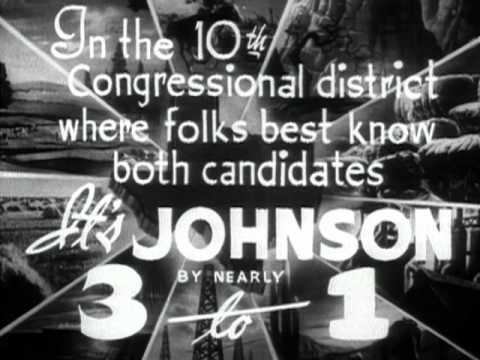 Lady Bird Johnson Home Movie #15: LBJ's Senate Campaign Spots