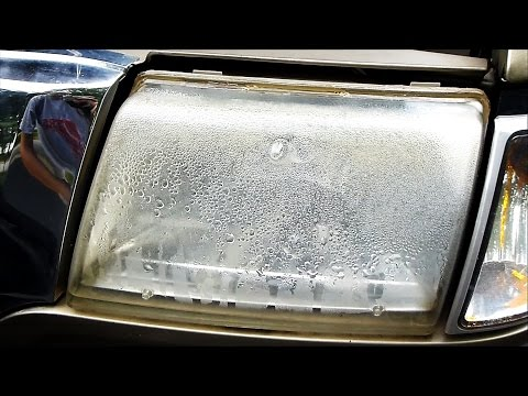 how to repair a headlight with moisture water in it. Black Bedroom Furniture Sets. Home Design Ideas