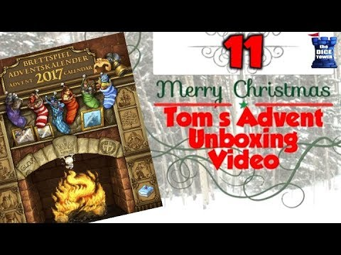 Tom's Advent Calendar Unboxing Video - December 11, 2017