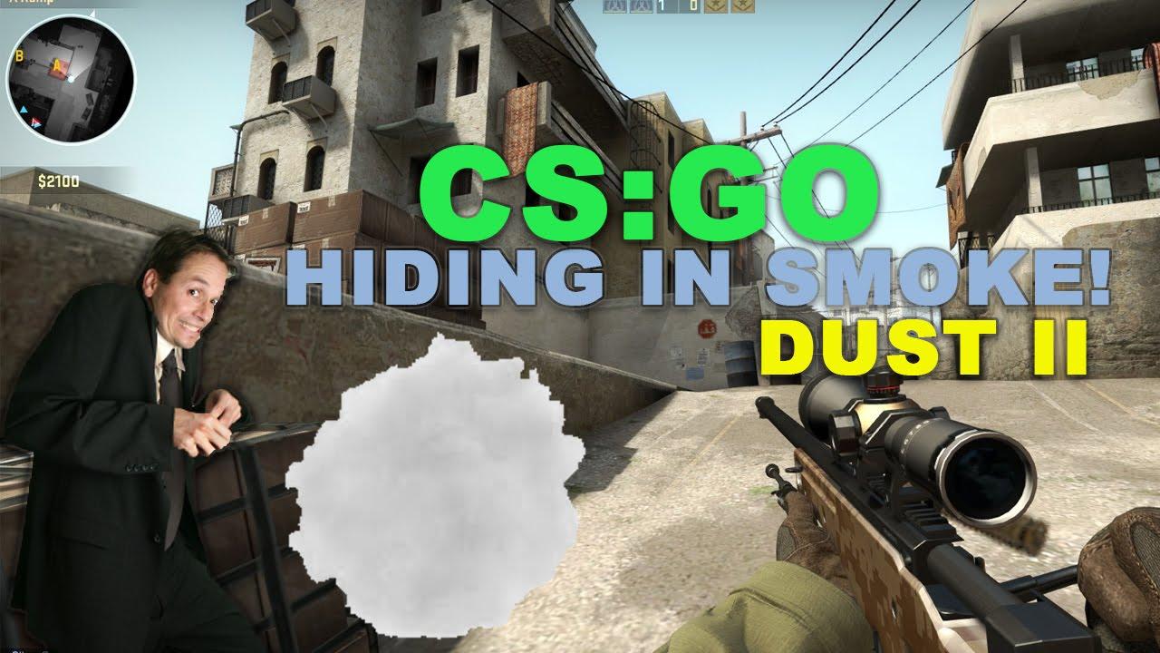 Hiding In The Smoke (Cs Go)